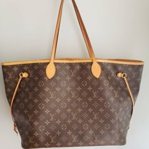 Authentic Louis Vuitton Neverfull GM Monogram